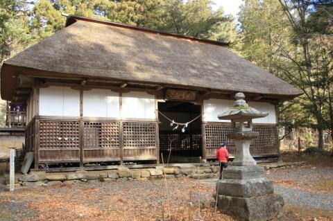 今朝の早池峯神社_f0075075_13140461.jpg