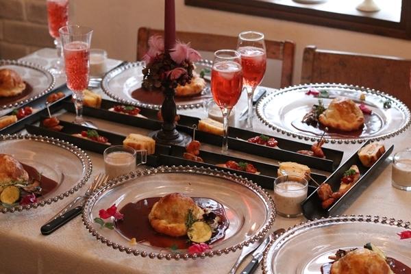 ファリーナキッチンで クリスマスの料理教室♪_e0237680_16405487.jpg
