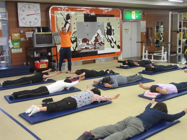 川越運動公園トレーニングルームショートエクササイズ!_d0165682_11214548.jpg
