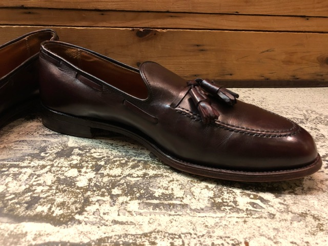 12月21日(土)大阪店スーペリア入荷!#3 LeatherShoes編!! ALDEN & AllenEdmonds, Florsheim, Johnston&Murphy, Cordovan!!_c0078587_12381331.jpg