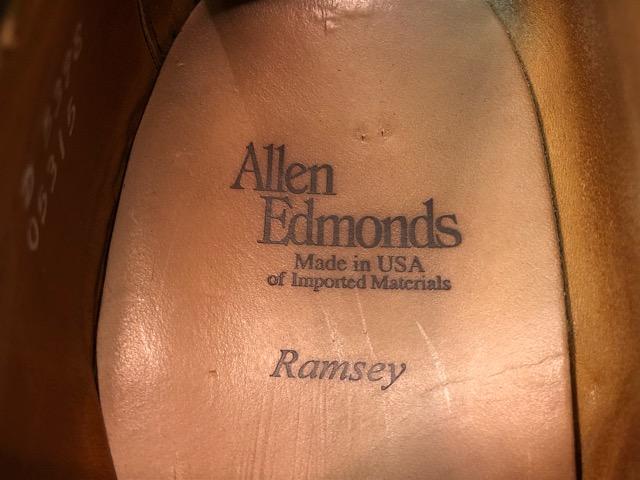 12月21日(土)大阪店スーペリア入荷!#3 LeatherShoes編!! ALDEN & AllenEdmonds, Florsheim, Johnston&Murphy, Cordovan!!_c0078587_1238432.jpg