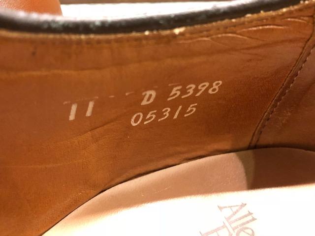 12月21日(土)大阪店スーペリア入荷!#3 LeatherShoes編!! ALDEN & AllenEdmonds, Florsheim, Johnston&Murphy, Cordovan!!_c0078587_12385376.jpg