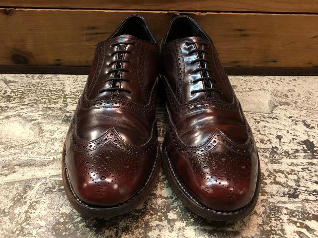 12月21日(土)大阪店スーペリア入荷!#3 LeatherShoes編!! ALDEN & AllenEdmonds, Florsheim, Johnston&Murphy, Cordovan!!_c0078587_1372697.jpg