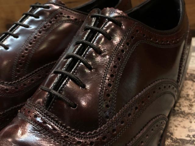 12月21日(土)大阪店スーペリア入荷!#3 LeatherShoes編!! ALDEN & AllenEdmonds, Florsheim, Johnston&Murphy, Cordovan!!_c0078587_1381713.jpg