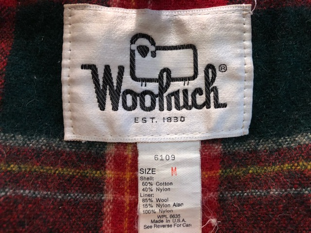 12月21日(土)大阪店スーペリア入荷!#5 L.L.Bean & Woolrich編!! BostonBag & A-2 Type, BoaVest!!_c0078587_1981632.jpg