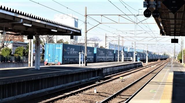 藤田八束の鉄道写真@東北本線宮城県JR名取駅はサッポロビール園前にあります。貨物列車「金太郎」が頑張っています・・・サッポロビールはこの貨物列車をもっと効果的使うと良い・・・貨物列車をコマーシャル様_d0181492_17563002.jpg