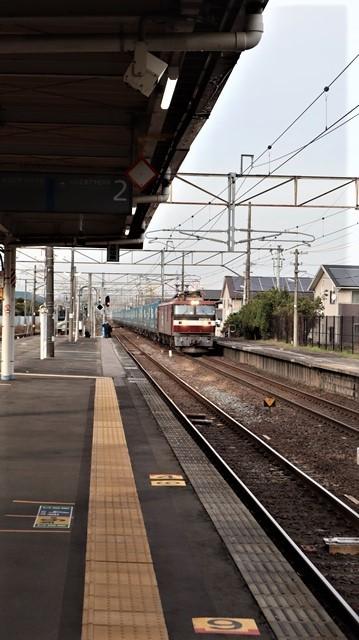 藤田八束の鉄道写真@東北本線宮城県JR名取駅はサッポロビール園前にあります。貨物列車「金太郎」が頑張っています・・・サッポロビールはこの貨物列車をもっと効果的使うと良い・・・貨物列車をコマーシャル様_d0181492_18053430.jpg