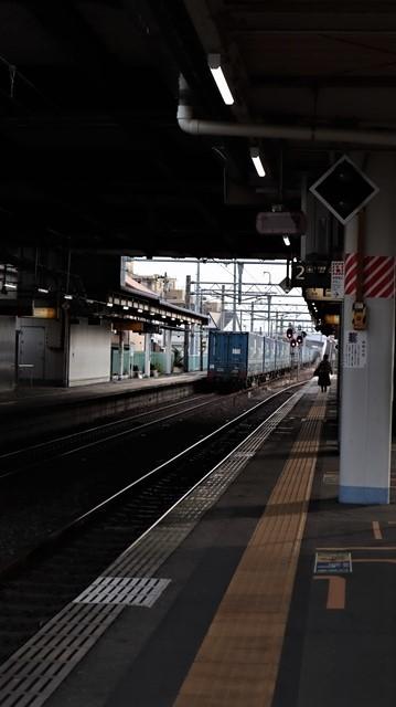藤田八束の鉄道写真@東北本線宮城県JR名取駅はサッポロビール園前にあります。貨物列車「金太郎」が頑張っています・・・サッポロビールはこの貨物列車をもっと効果的使うと良い・・・貨物列車をコマーシャル様_d0181492_18063838.jpg