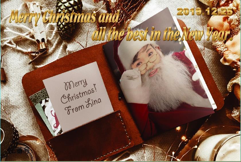 メリークリスマス!_e0124015_0205997.jpg