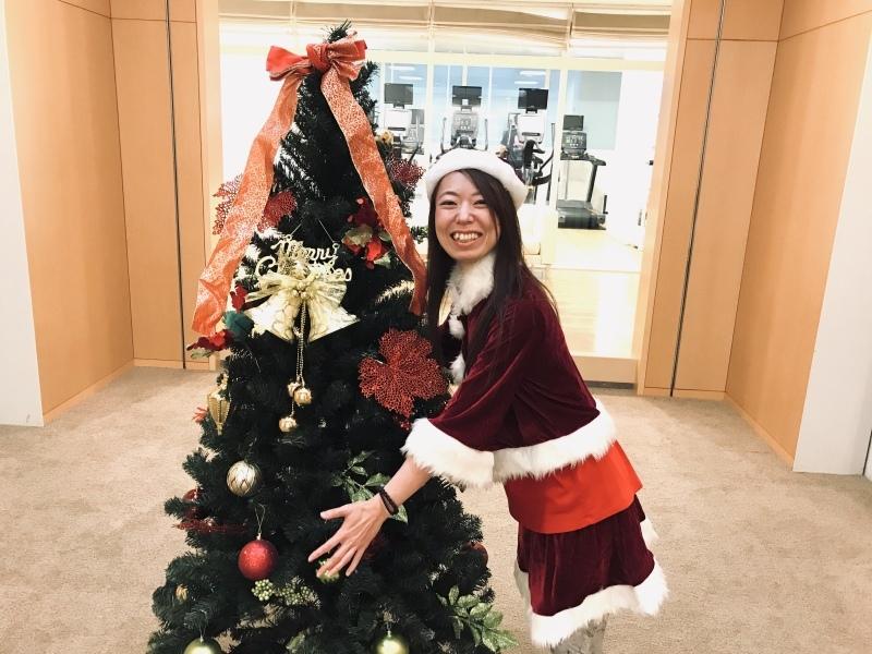 クリスマス仮装!エアロビクスインストラクターと、バレトンインストラクター_a0390917_22504830.jpg