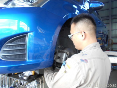 NZE161カローラフィールダー 納車整備中(*^・ェ・)ノ_c0213517_15303958.jpg