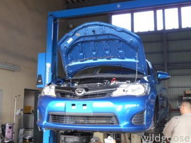 NZE161カローラフィールダー 納車整備中(*^・ェ・)ノ_c0213517_15303998.jpg
