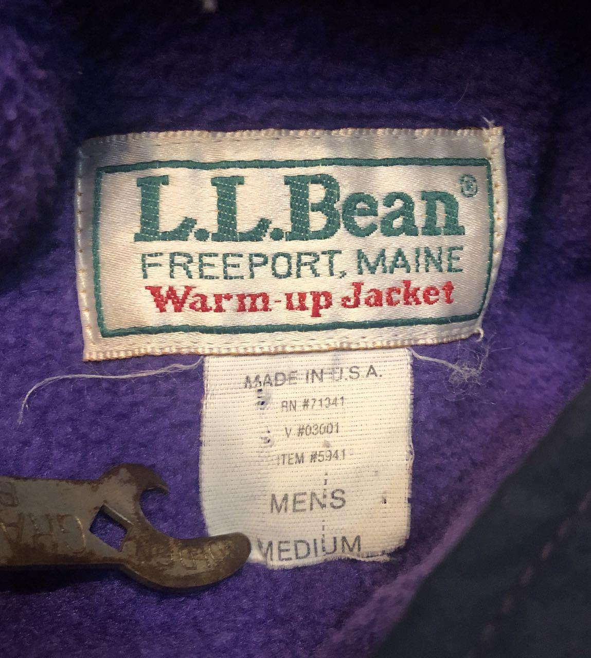 12月21日(土)入荷!80s~Made in U.S.A L.L Bean Warm Up Jacket!_c0144020_14013928.jpg