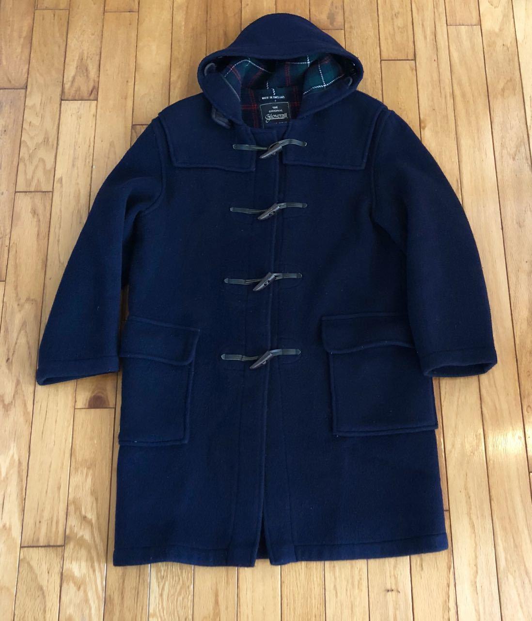 12月21日(土)入荷!90s Made in England Groverall  Duffle Coat グローバーオール ダッフルコート_c0144020_14073535.jpg