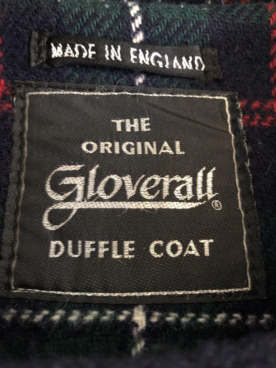 12月21日(土)入荷!90s Made in England Groverall  Duffle Coat グローバーオール ダッフルコート_c0144020_14073708.jpg