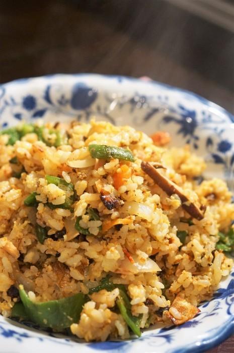 ■晩ご飯に【パラパラチャーハンの簡単な作り方】_b0033423_09410529.jpg
