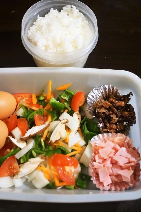 ■晩ご飯に【パラパラチャーハンの簡単な作り方】_b0033423_09482833.jpg