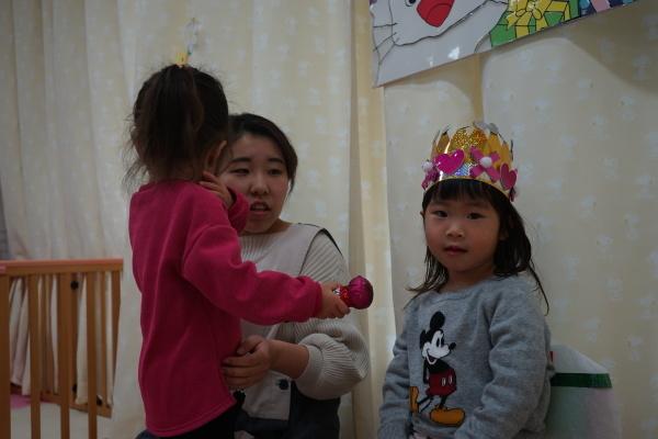 保育園 12月誕生日会_a0166025_15354472.jpg