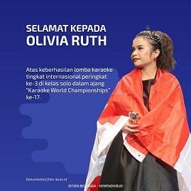 祝・インドネシア代表のOLIVIA RUTHさん第3位@カラオケ世界チャンピオン大会ソロ部門_a0054926_20321169.jpg