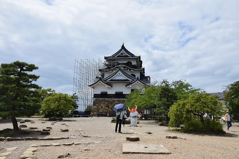 国宝・彦根城を歩く。 その3 <太鼓丸~太鼓門櫓~本丸>_e0158128_16391452.jpg