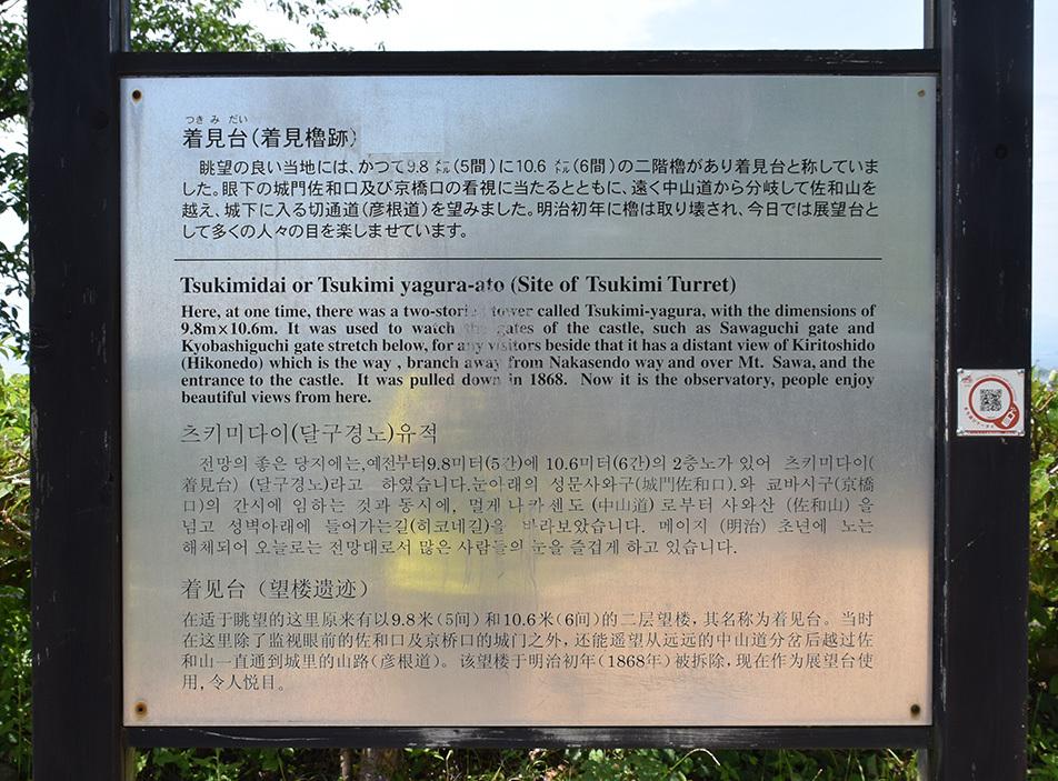 国宝・彦根城を歩く。 その3 <太鼓丸~太鼓門櫓~本丸>_e0158128_16481625.jpg