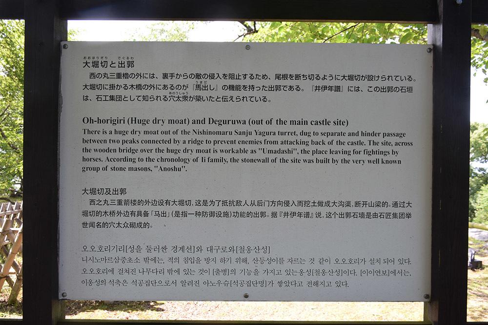 国宝・彦根城を歩く。 その5 <西の丸~出曲輪>_e0158128_18124613.jpg