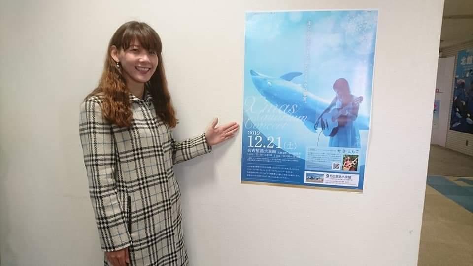 週末のライブ情報!名古屋港水族館と鶴舞公園!_f0373339_13492885.jpg