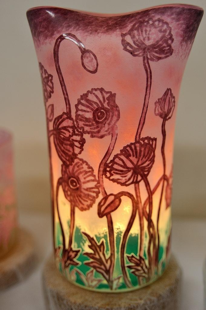 ガラス工芸 生徒作品展@横浜人形の家_a0384046_22215610.jpg