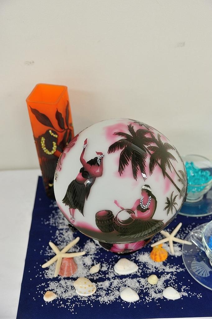 ガラス工芸 生徒作品展@横浜人形の家_a0384046_22233932.jpg
