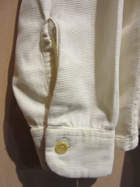 50s タウンクラフト プリントコーデュロイシャツ / TOWNCRAFT_b0166471_19190052.jpg
