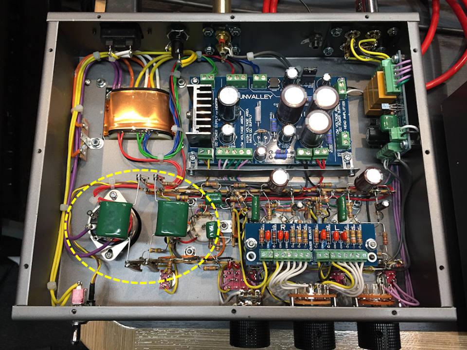 SV-EQ1616D(フォノイコライザー)一本勝負最終章!真空管&カップリング交換で究極を目指す_b0350085_02232787.jpg