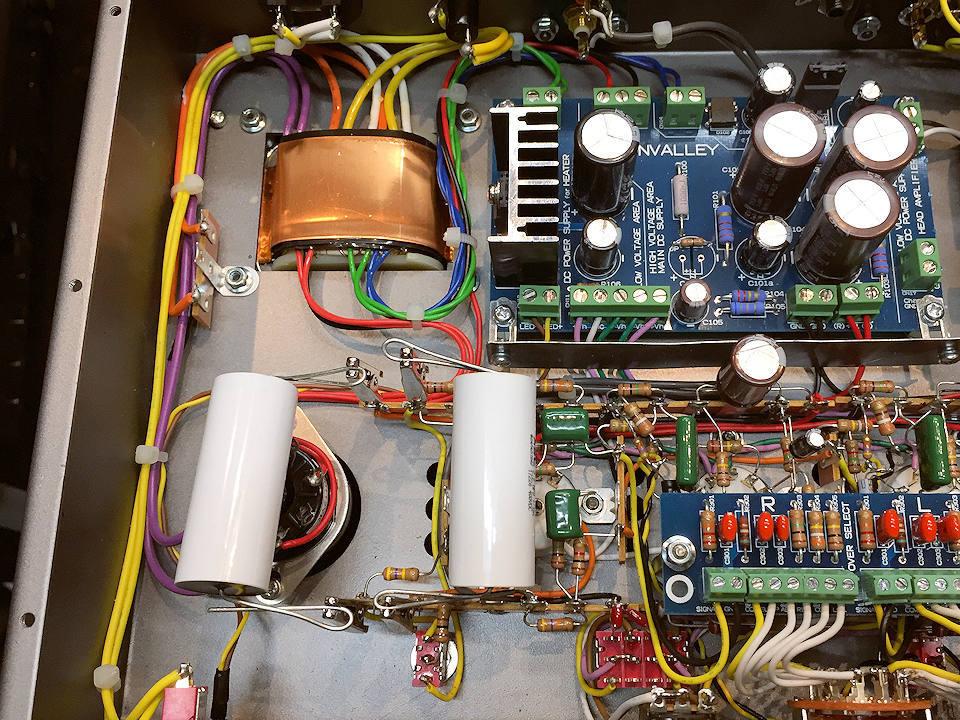 SV-EQ1616D(フォノイコライザー)一本勝負最終章!真空管&カップリング交換で究極を目指す_b0350085_02234126.jpg
