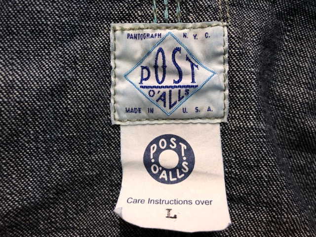 12月21日(土)大阪店スーペリア入荷!#8 Denim & Work編!! POST O\'ALLS & Levi\'s, BIG MAC!!_c0078587_15371837.jpg