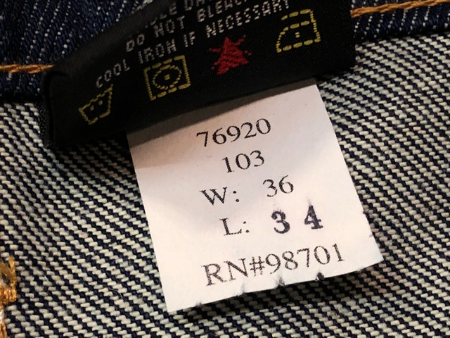 12月21日(土)大阪店スーペリア入荷!#8 Denim & Work編!! POST O\'ALLS & Levi\'s, BIG MAC!!_c0078587_15393137.jpg