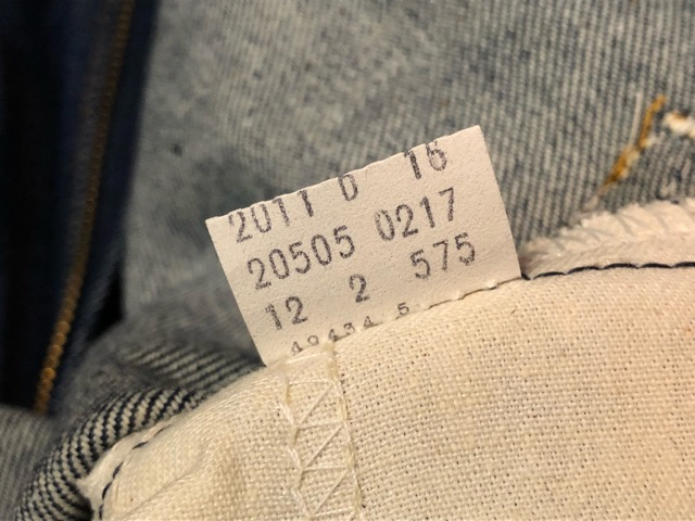 12月21日(土)大阪店スーペリア入荷!#8 Denim & Work編!! POST O\'ALLS & Levi\'s, BIG MAC!!_c0078587_1545411.jpg