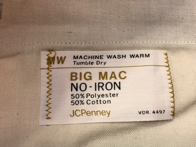 12月21日(土)大阪店スーペリア入荷!#8 Denim & Work編!! POST O\'ALLS & Levi\'s, BIG MAC!!_c0078587_17125411.jpg