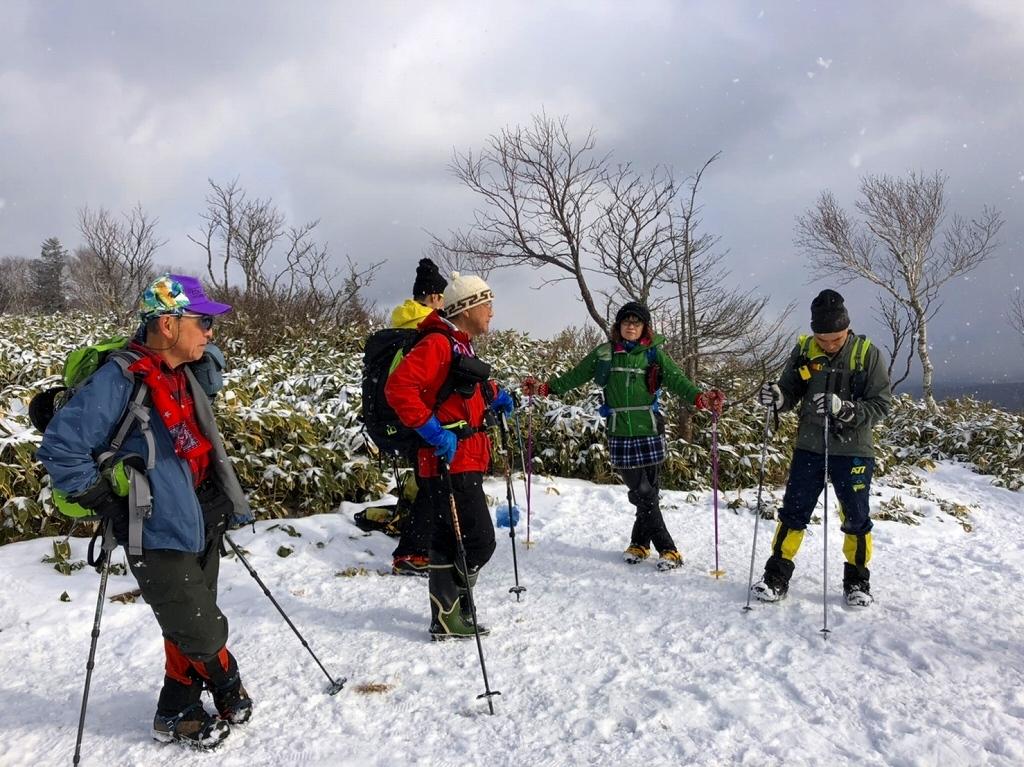 雪の少ないイチャンコッペ山、2019.12.20_f0138096_22011247.jpg