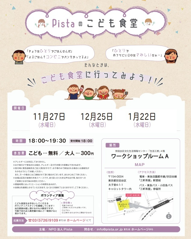 12月25日の三軒茶屋子ども食堂_c0092197_16405267.jpg