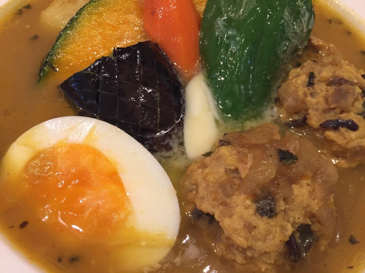PARAKEET  限定カレー (ほっこり野菜とチキンのスープカレー)_e0115904_07452810.jpg