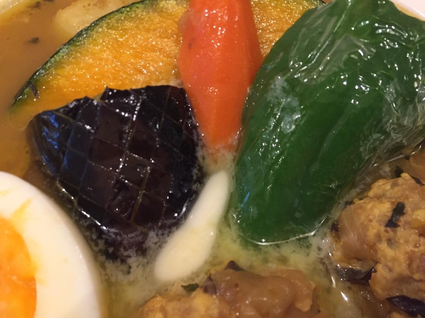 PARAKEET  限定カレー (ほっこり野菜とチキンのスープカレー)_e0115904_07452839.jpg