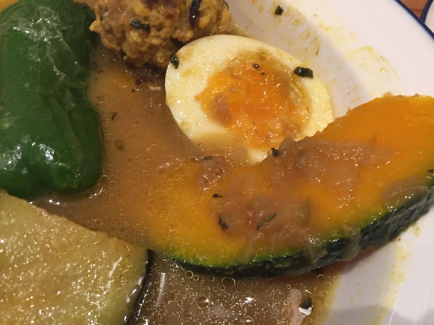 PARAKEET  限定カレー (ほっこり野菜とチキンのスープカレー)_e0115904_07581938.jpg