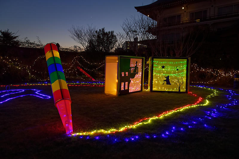 クリスマスイルミネーション@びわ湖大津館 2019イルミネーション「光のおもちゃの世界」_f0032011_17330147.jpg