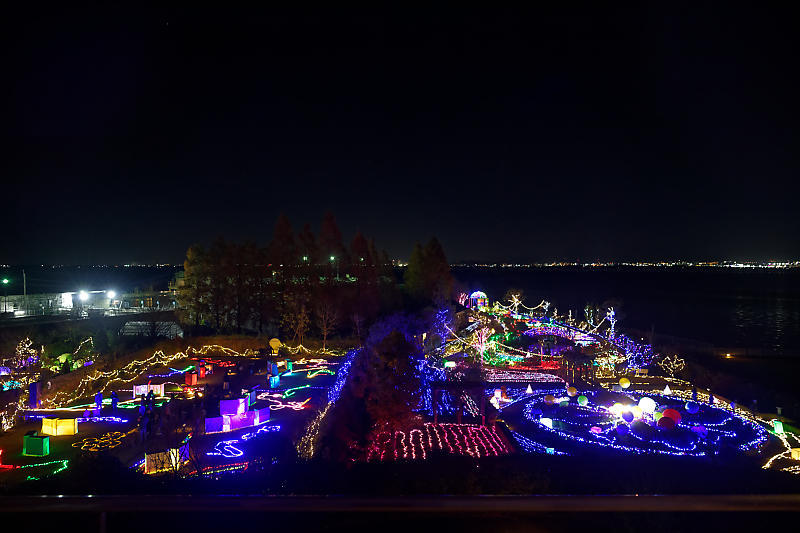 クリスマスイルミネーション@びわ湖大津館 2019イルミネーション「光のおもちゃの世界」_f0032011_17423575.jpg