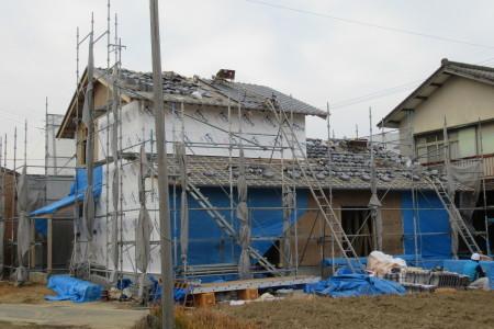 「駒場の家」瓦葺き工事_b0179213_21131490.jpg