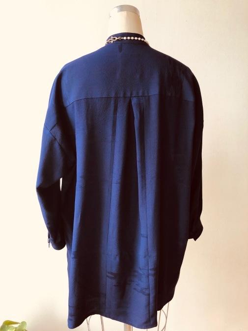 着物着物リメイク・ 綸子の羽織からオーバートップス_d0127925_20073543.jpg