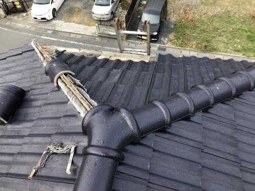 南アルプス市 ブラックの屋根_b0242734_19515837.jpeg