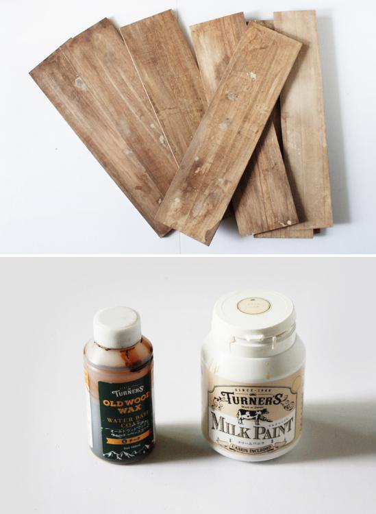 セリアの木板で「古道具風の木製ラック」を簡単DIY_d0351435_08441164.jpg