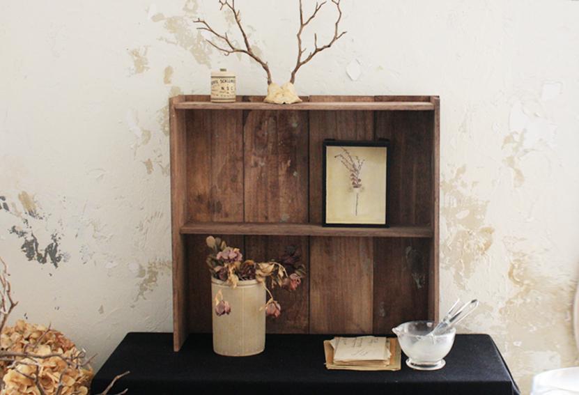 セリアの木板で「古道具風の木製ラック」を簡単DIY_d0351435_09471919.jpg