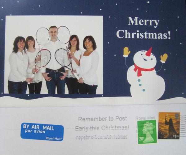 今年もイギリスからクリスマスカードが届きました_a0151444_10303995.jpg