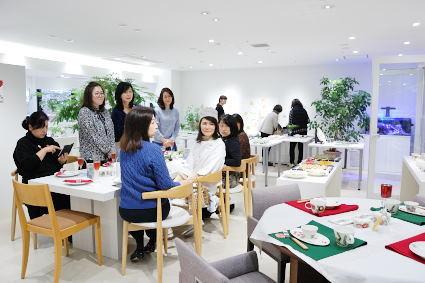 松尾摂子さんの器でクリスマスパーティ ~フードクラス&ブラッシュアップBクラス_d0217944_17453415.jpg